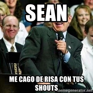 Laughing Bush - sean me cago de risa con tus shouts