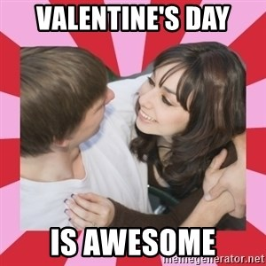 great couple  - valentine's day is awesome
