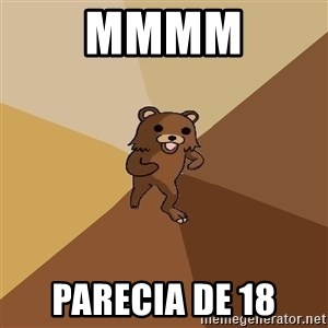 Pedo Bear From Beyond - mmmm parecia de 18