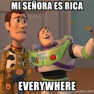 ORIGINAL TOY STORY - mi señora es rica everywhere