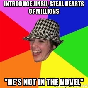 "Scumbag Simone - INTRODUCE JINSU, STEAL HEARTS OF MILLIONS ""HE'S NOT IN THE NOVEL"""