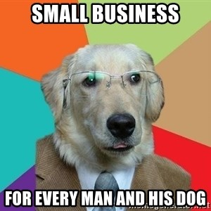 Business Dog - small business for every man and his dog