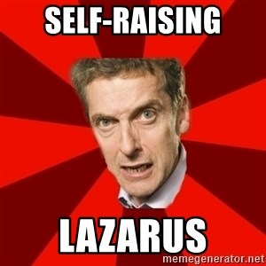 Malcolm Tucker - Self-raising Lazarus