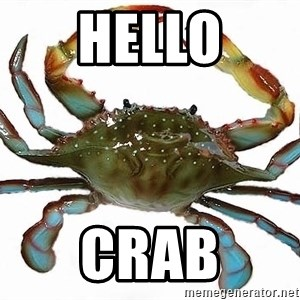 Boss Crab - Hello Crab