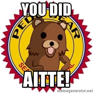 Seal Of Approval - You Did Aitte!