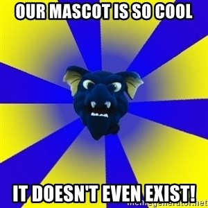 Drexel Dragon - our mascot is so cool it doesn't even exist!