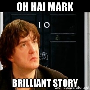 If Bernard Black was PM - Oh hai mark brilliant story