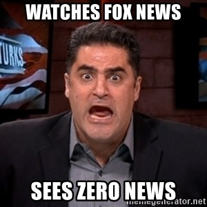 Angry Cenk - Watches FOX news Sees zero news