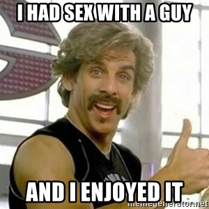 White Goodman - I had sex with a guy And i enjoyed it