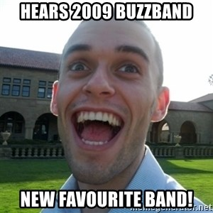 Amazed Peter - Hears 2009 Buzzband New favourite band!