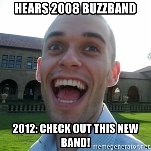 Amazed Peter - Hears 2008 buzzband 2012: Check out this new band!