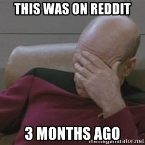 Picard - this was on reddit 3 months ago