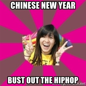 GOOD CHINESE STUDENT - CHINESE NEW YEAR BUST OUT THE HIPHOP