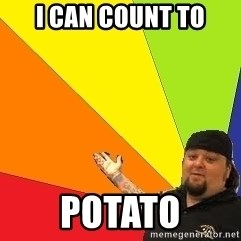 Pawn Stars - i can count to potato