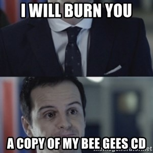 Misleading Moriarty - I WILL BURN YOU A COPY OF MY BEE GEES CD
