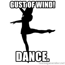 Socially Awkward Dancer - Gust of Wind! Dance.