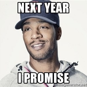 Kid Cudi Troll - Next year I promise