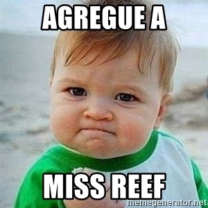 Bien CTM - agregue a miss reef
