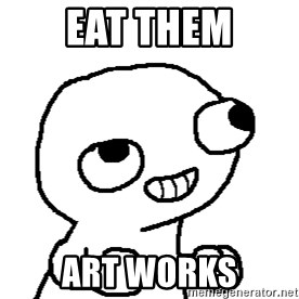 Fsjal - eat them art works