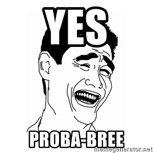 asian guy - yes Proba-bree