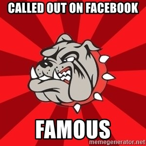 Bedford Bulldog - CALLED OUT ON FACEBOOK FAMOUS