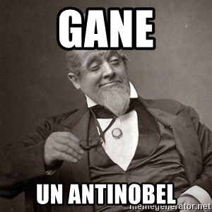 1889 [10] guy - GANE UN ANTINOBEL