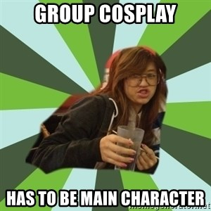 Joyce the Divine - Group cosplay has to be main character