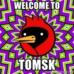 Omsk Crow - WELCOME to tomsk