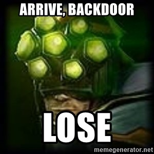 Master Yi - Arrive, Backdoor Lose
