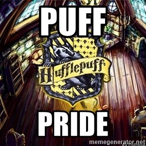 Typical Hufflepuff - Puff pride