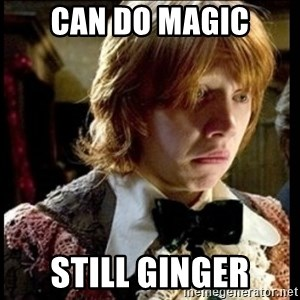 Magic World Problems - can do magic still ginger