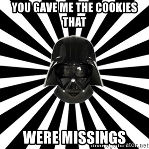 Vk.Com/L0rdvader - you gave me the cookies that were missings