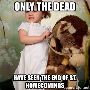 Horse Girl - only the dead Have seen the end of st. homecomings