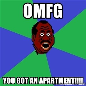 Shocked Doc - OMFG You got an apartment!!!!