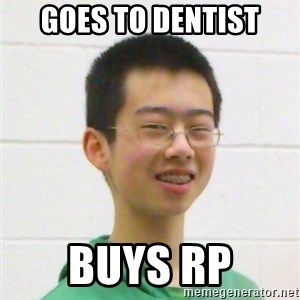 Kevin the Troll - goes to dentist buys rp