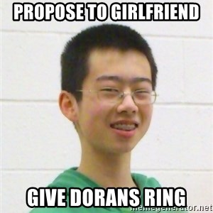 Kevin the Troll - propose to girlfriend give dorans ring