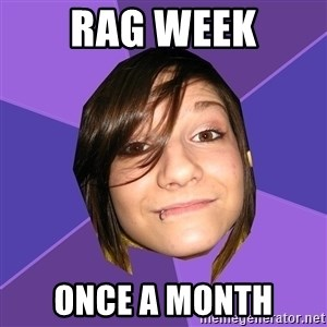 Clinically Insane Scene Girl - RAG WEEK ONce a month