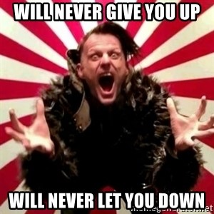 Advice Zoog - will never give you up will never let you down