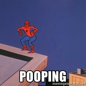 Spiderman12345 - Pooping