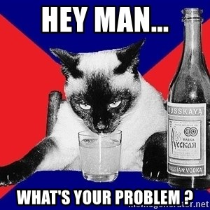 Alco-cat - HEY man... what'S your PROBLEM ?