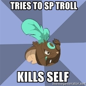 Transformice meme shaman  -  TRIES TO SP TROLL KILLS SELF