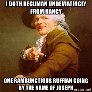 Joseph Ducreux - i doth becuman undeviatingly from nancy one rambunctious ruffian going by the name of joseph