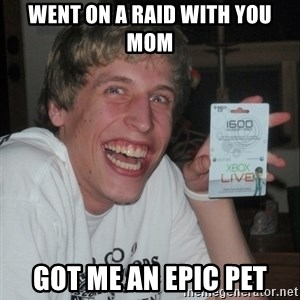 GAMER TEEN - Went on a raid with you mom Got me an epic pet