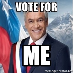 presidente pinera - Vote For ME