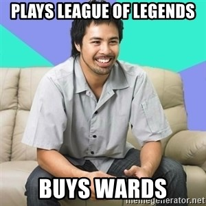 Nice Gamer Gary - plays league of legends buys wards