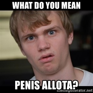 Conspiracy Manke - What do you mean penis allota?