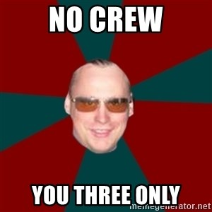Crafty Organizer - no crew you three only