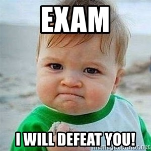 Bien CTM - EXAM I WILL DEFEAT YOU!