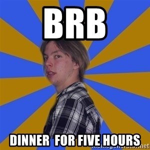 Rational Gaze Jack  - BRB DINNER  FOR FIVE HOURS