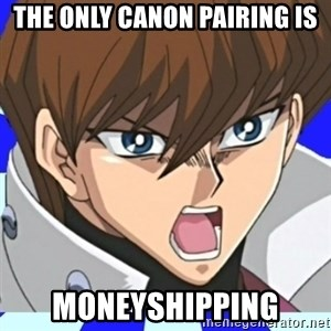 Courage Wolf Kaiba - The only canon pairing is moneyshipping